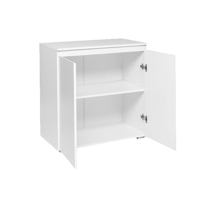 Erika 2-Door Cabinet - White - 3