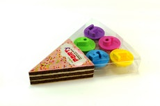 PARTYB Cake Slice Makers (Set of 5)