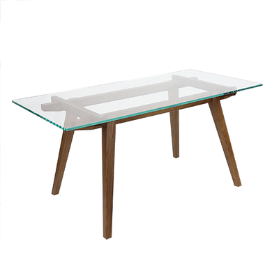 Sticotti Glass Dining Table 1.6m - Image 1