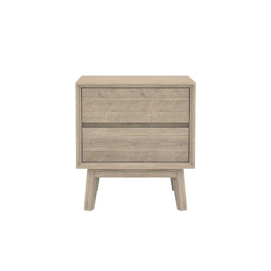 Leland by HipVan - Leland Twin Drawer Bedside Table