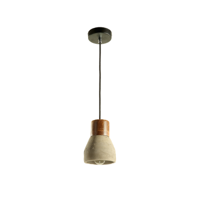 Charlie Concrete Pendant Lamp - Grey - Image 1