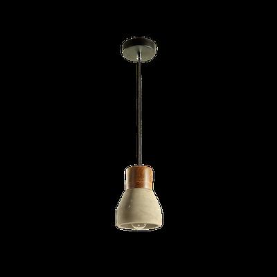 Charlie Concrete Pendant Lamp - Grey