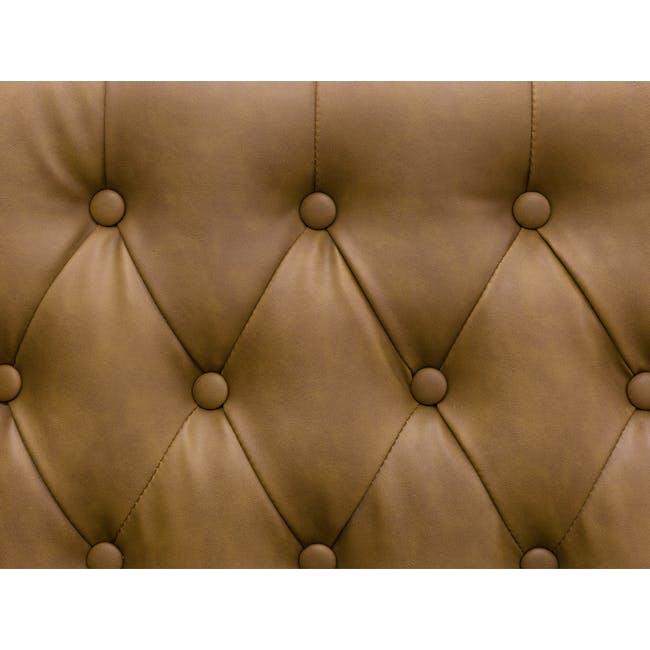 Cadencia Armchair - Tan (Faux Leather) - 8