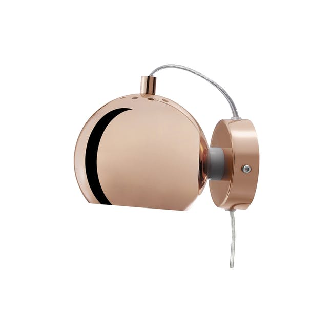 Slug Wall Lamp - Copper - Short - 1