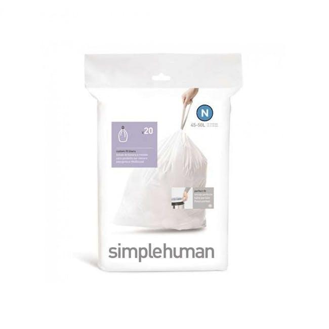 simplehuman Pefect Fit Liner 45L to 50L - N - 0