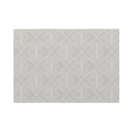 Heritage Carpets - Essenza Flatwoven Rug 2.9m x 2m - Light Trellis