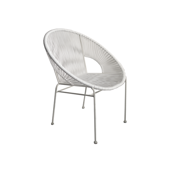 Acapulco - Acapulco Lounge Chair - White