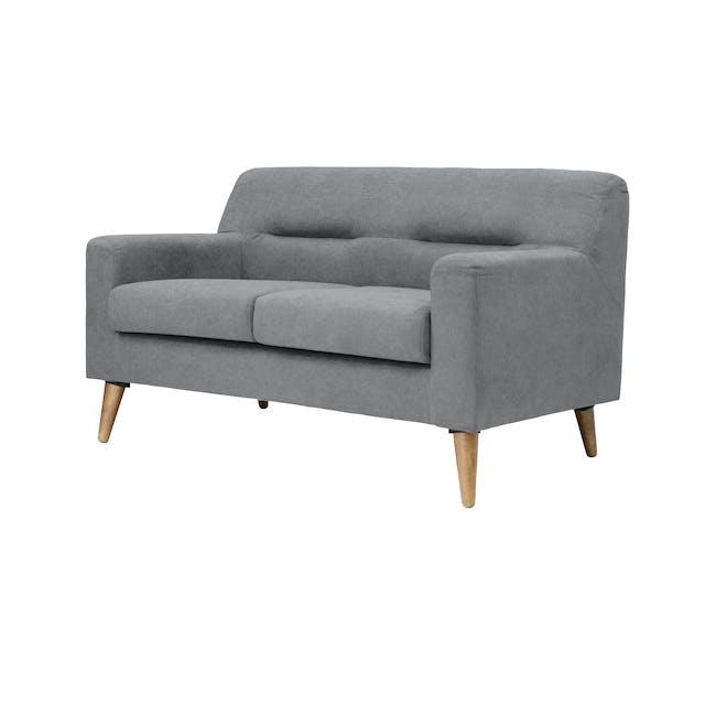 Damien 2 Seater Sofa - Heather Grey - 2