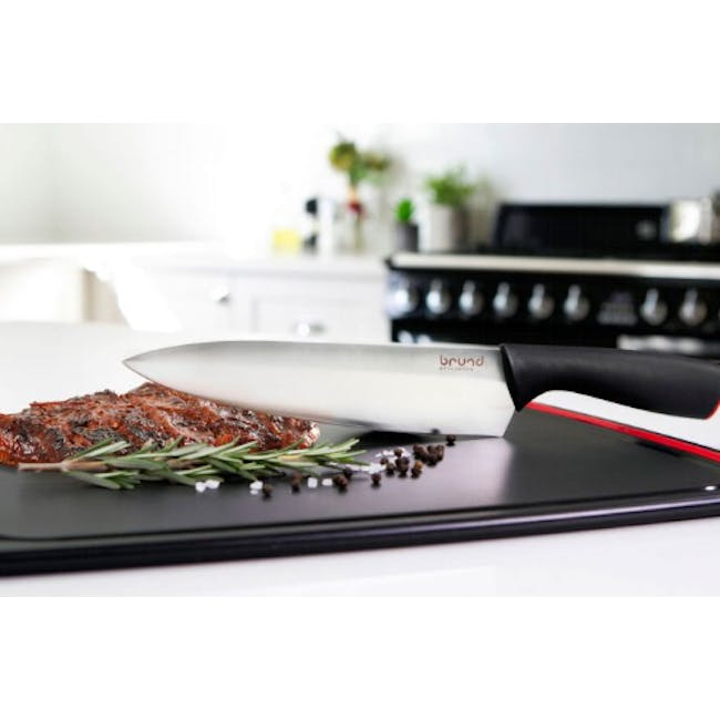 Brund EasyCut Chef's Knife with Cover - 1