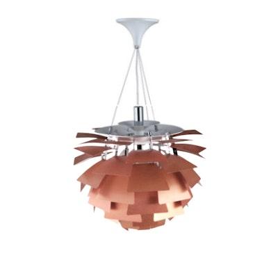 Artichoke Lamp with E27 Bulb - Copper