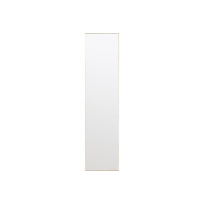 Zoey Standing Mirror 30 x 150 cm - Brass - 1