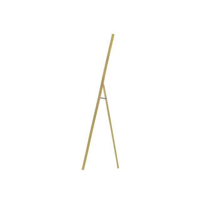 Zoey Standing Mirror 30 x 150 cm - Brass - 4