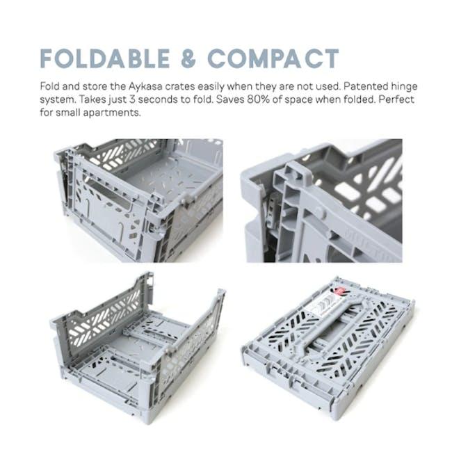 Aykasa Foldable Midibox - Warm Taupe - 3