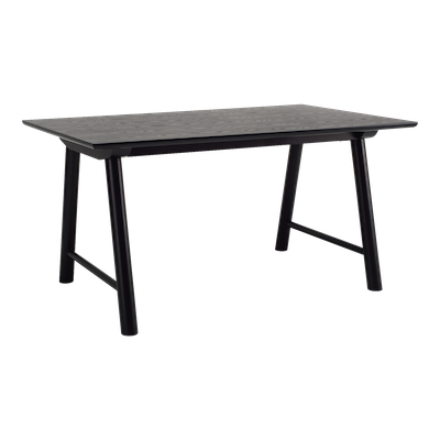 Ernest Dining Table 1.5m - Black - Image 1