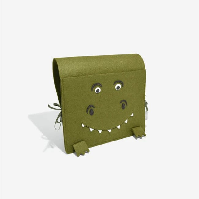 Little Stackers Bed Pocket - Terry T-Rex - 2