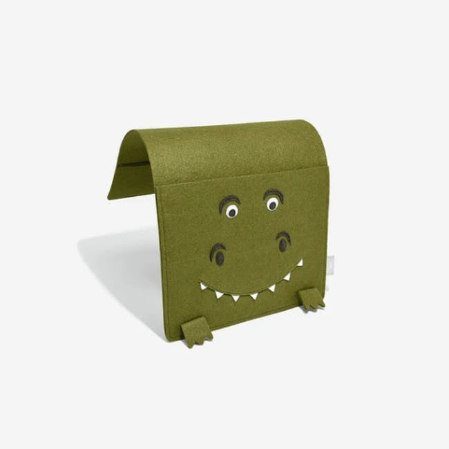 Little Stackers Bed Pocket - Terry T-Rex - 3