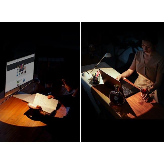 Focus  LED Study Lamp - Classic White - 1