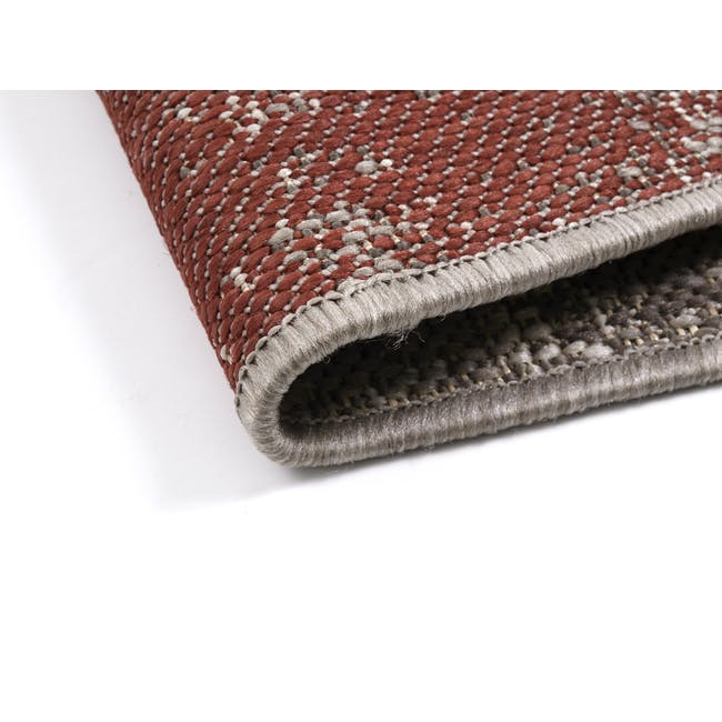Star Flatwoven Rug 2.9m x 2m - Grey Patchwork - 4