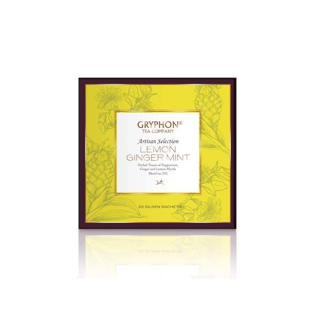 Gryphon Lemon Ginger Mint Tea - 0