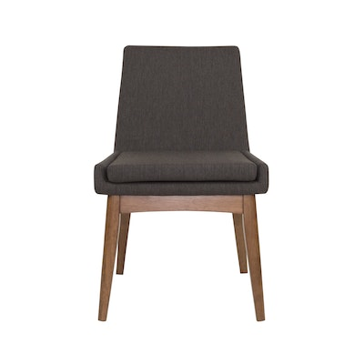 Fabian High Back Dining Chair - Cocoa, Mud - Image 2