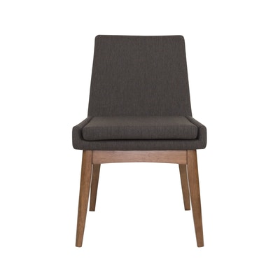 Fabian High Back Dining Chair - Cocoa, Mud - Image 1
