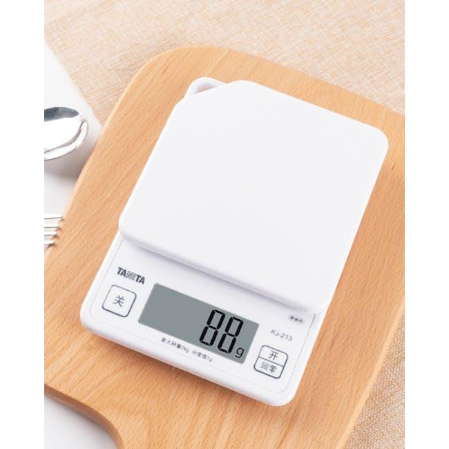 Tanita Digital Kitchen Scale with Hanging Hook - White - 4