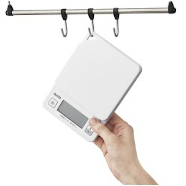 Tanita Digital Kitchen Scale with Hanging Hook - White - 1