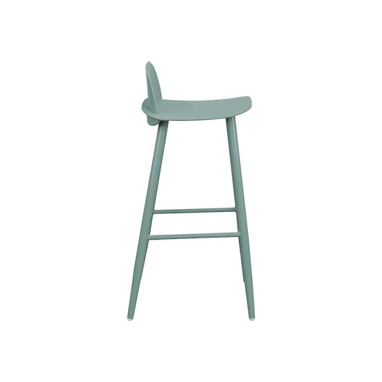Lichang - Dawson Bar Chair - Teal Green