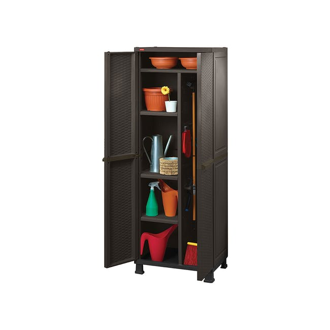 Rattan Multipurpose Cabinet with Legs - 0