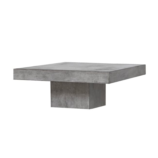 (As-is) Ryland Concrete Coffee Table 1.2m - 3 - 0