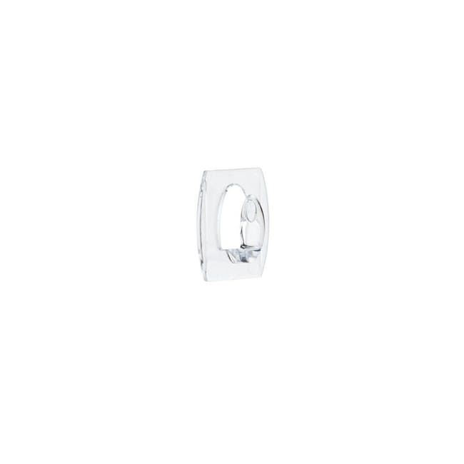 Command™ Clear Hooks with Clear Strips - Mini - 1