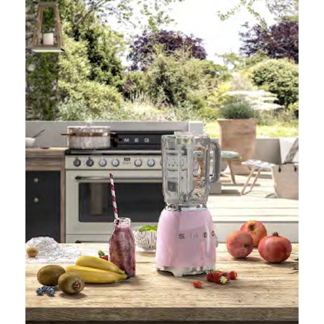 Smeg 800W Blender - Pink - 1