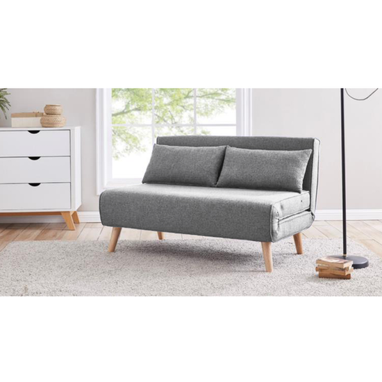 Noel 2 Seater Sofa Bed - Harbour Grey