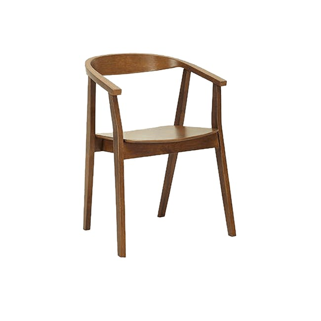 (As-is) Greta Chair - Cocoa - 3 - 0