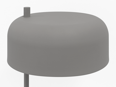 Bridget Floor Lamp - Grey - Image 2