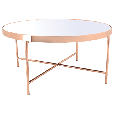 Xander Mirror Coffee Table with Xander Mirror Side Table - Image 2