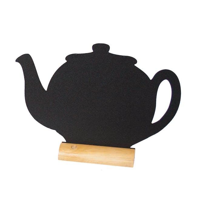 Securit Teapot-Shaped Table Chalkboard - 0