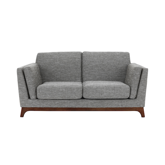 Malmo - Elijah Loveseat - Pebble (Fabric)