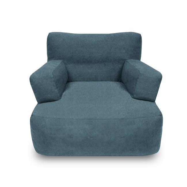 Flabber Bean Bag Sofa - Blue - 0