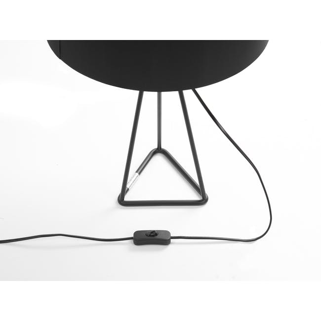(As-is) Zoey Table Lamp - Black - 2 - 11