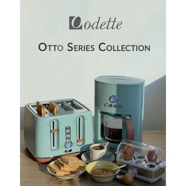 Odette Otto Series 1.5L Programmable Coffee Maker - Light Green - 1