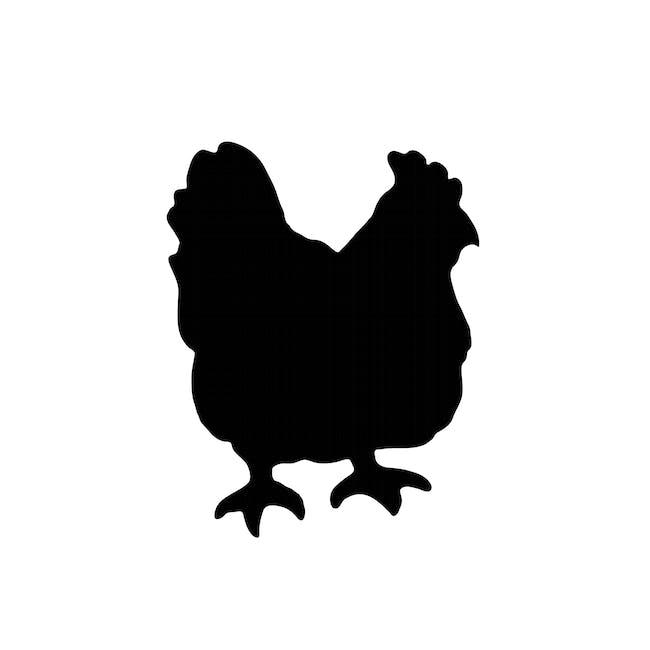 Securit Chicken-Shaped Chalkboard - 0