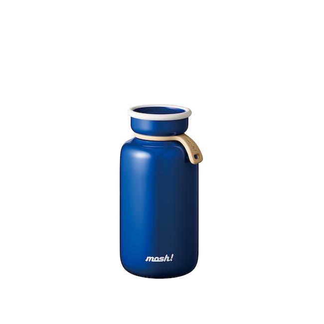 MOSH! Latte Bottle 450ml - Blue - 0