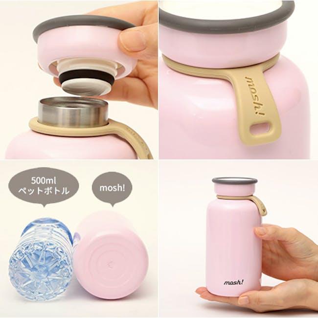 MOSH! Latte Bottle 450ml - Blue - 3