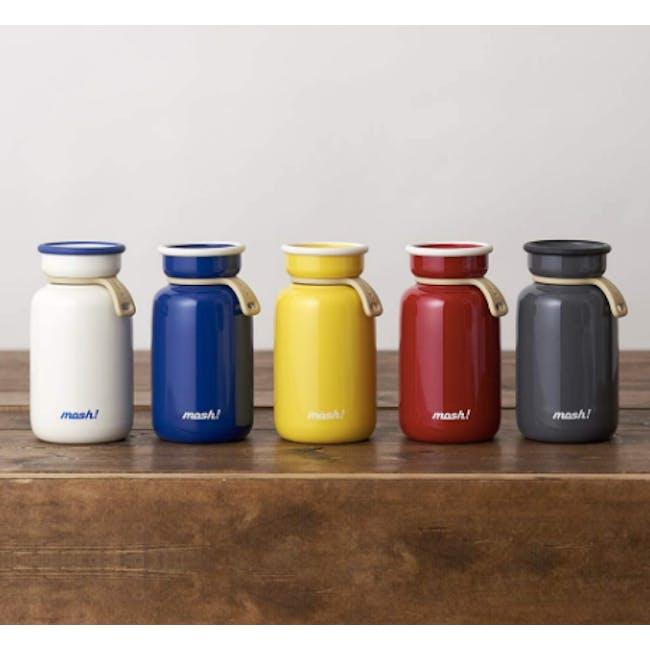 MOSH! Latte Bottle 450ml - Blue - 1