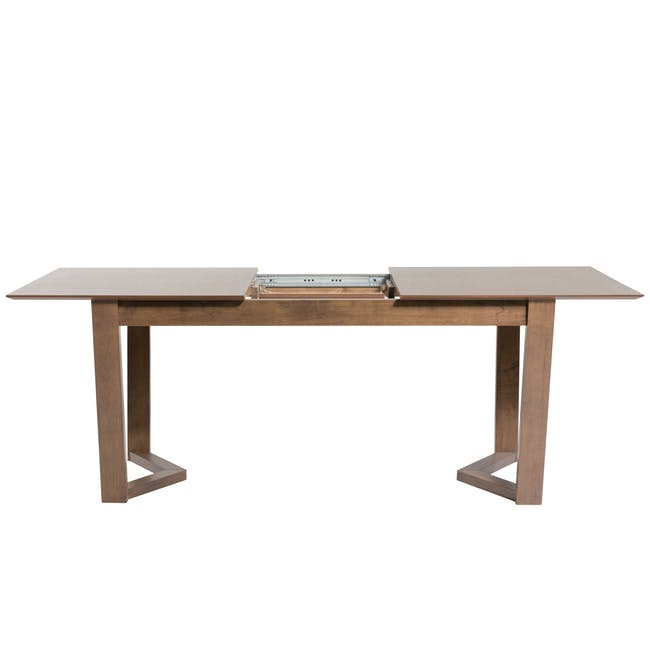Meera Extendable Dining Table 1.6m - Cocoa - 11