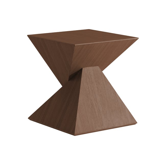 Ollie Side Table - Walnut - 0