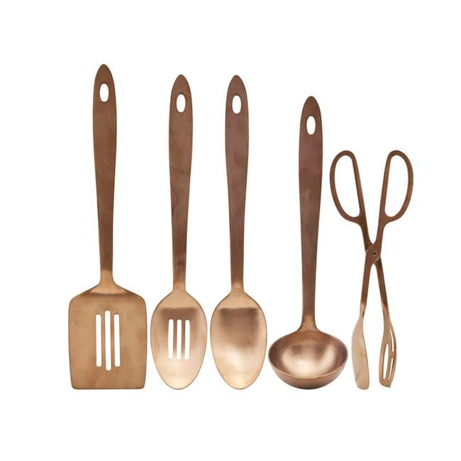 Kitchen Tools - Copper (Set of 5) - 0