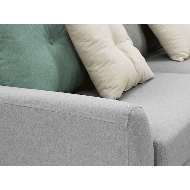Evan 2 Seater Sofa - Slate - 5