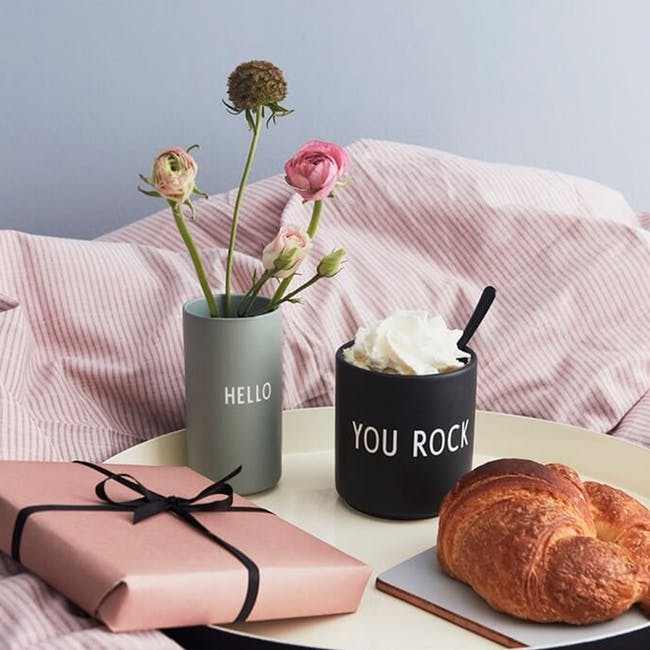 Favourite Cup - Black (You Rock) - 1
